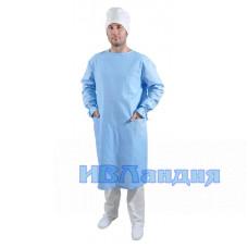 Халат хирурга цветной (Бязь) 2 Расцветки