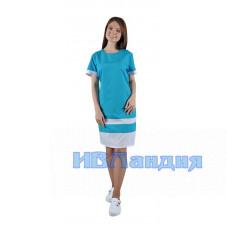 Платье медицинское «Эльза» 2 расцветки