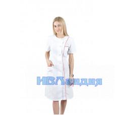 Халат медицинский женский «Лира»