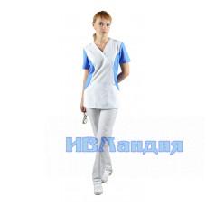 Блуза медицинская  «Герда»