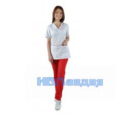 Блуза медицинская  «Лотос»