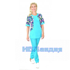 Костюм медицинский женский «Лето»  5 Расцветок