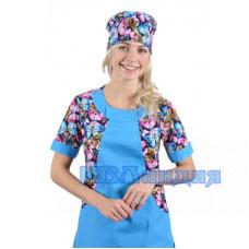 Колпак медицинский прямой «Окей»  (Трикотаж) 4 Расцветки